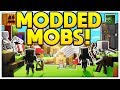 OP SUPERPOWERED MOD MOBS - MINECRAFT MODDED MONSTERS INDUSTRIES 4.0