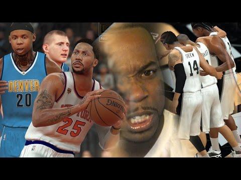 TRYING TO INJURE DERRICK ROSE! VS New York Knicks! THIS IS BULLSH&T! NBA 2k17 MyCareer Gameplay