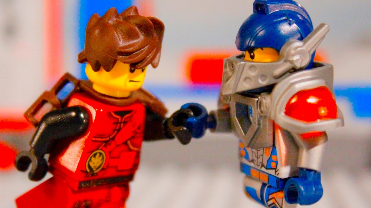 Lego ninjago vs nexo knights kai vs clay youtube - Ninjago vs ninjago ...