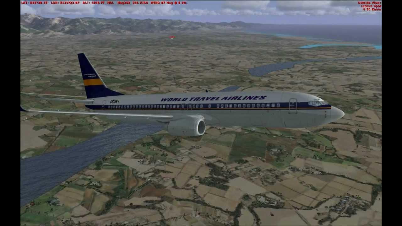 Fsx Hd 737 800 Ifr Full Flight Demo For Beginners 基礎ifr航班飛行示範 Youtube