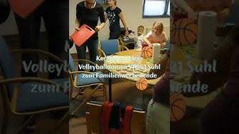 Familienwochenende im Thüringer Wald mit den Volleyballerinnen des VfB Suhl LOTTO Thüringen