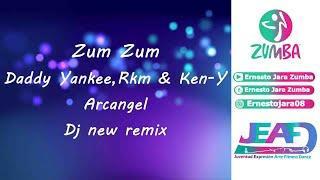 Daddy Yankee, RKM &amp Ken-Y &amp Arcangel Zum Zum Coreografia Ernesto Jara Zumba