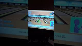 Funny thing In wii sports bowling