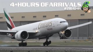Arrivals and Departures at London Heathrow Airport