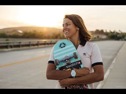 NORA VASCONCELLOS ROLLIN' INTO THE SWATCH PROTEAM