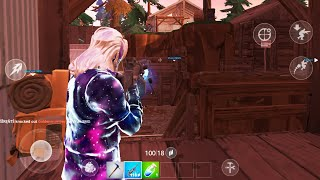 Fortnite Gameplay: Galaxy Skin On Samsung Galaxy Tab S4