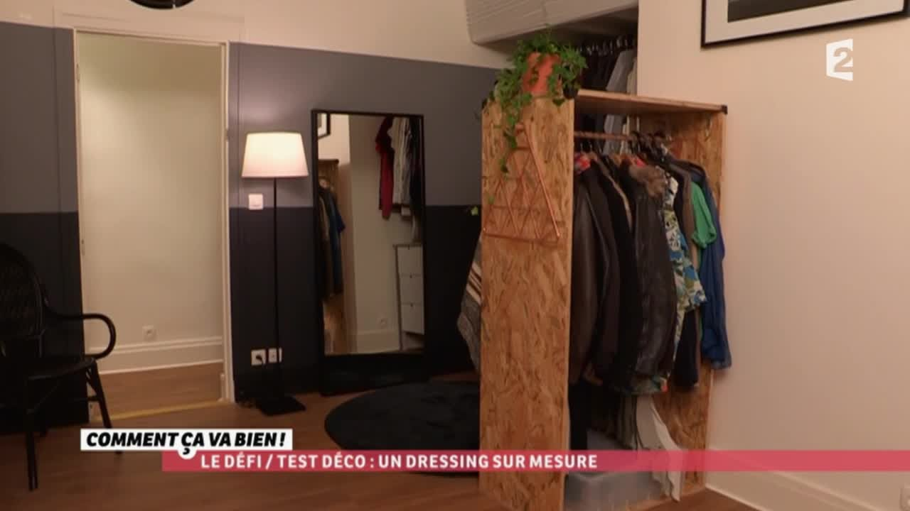 diy un dressing sur mesure ccvb youtube. Black Bedroom Furniture Sets. Home Design Ideas