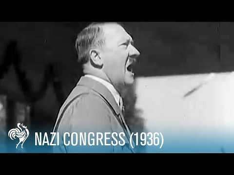Nazi Congress in Nuremberg, Germany (1936) | British Pathé