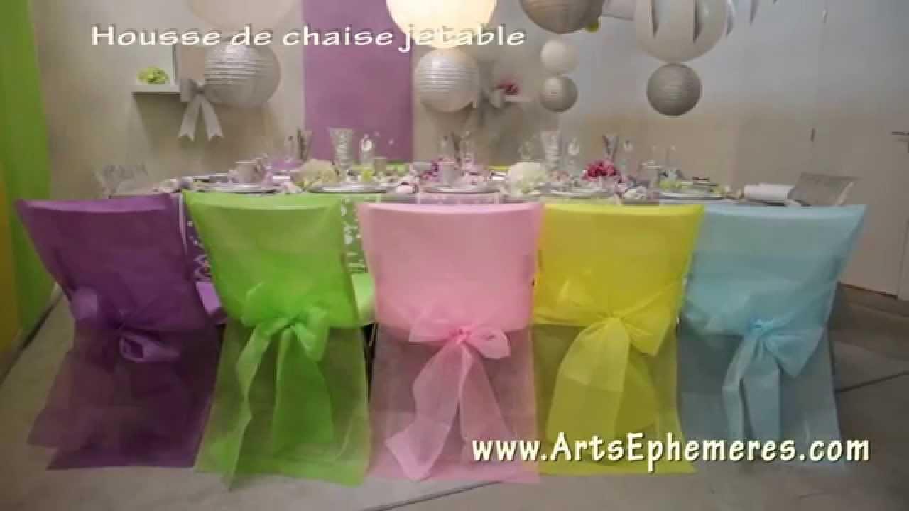 Housse De Chaise Déco Arts Ephémères