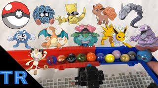 HUGE Pokemon Marble Elimination Race | Toy Racing