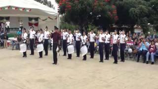 Marcha Recuerdos: Banda de Guerra Halcones de Empalme Escobedo, Gto