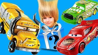 Cars 3 Crash Scene Miss Fritter Compilation with Gertit ToysReview