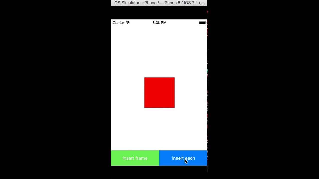 UIView Animation for iOS7 - YouTube