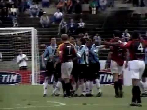 Grêmio 1 x 5 Atlético-PR - Copa Sul-Minas 2002