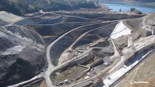 Video still for Timelapse Video: Moving 7 Million Cubic Yards at Calaveras Dam Replacement Project