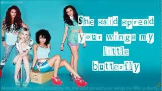 Little Mix - Wings Lyrics On-screen
