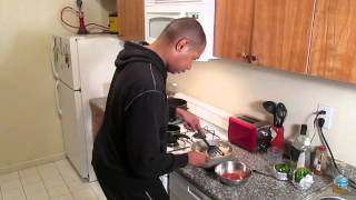Cooking With Alex: Baked Chicken & Brown Rice Stuffed Peppers