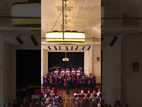 Multitude Inc Choir - Sandgate Town Hall by Councillor Jared Cassidy