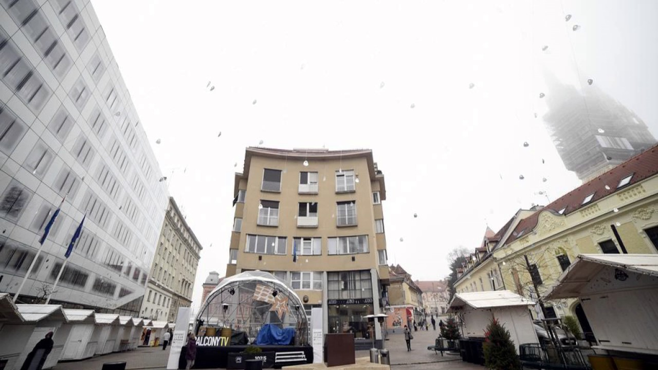 Zagreb In Central Square Apartment Zagreb Croatia Youtube