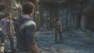 Uncharted 4 - Fight Scene Nathan and Sam vs Nadine