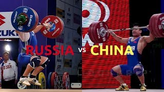 Footwork (Russian v.  Chinese)