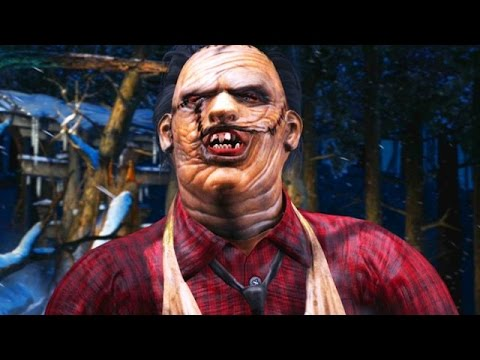 "HOW TO PLAY BUTCHER LEATHERFACE - Mortal Kombat X ""Leatherface"" Gameplay (MKXL)"