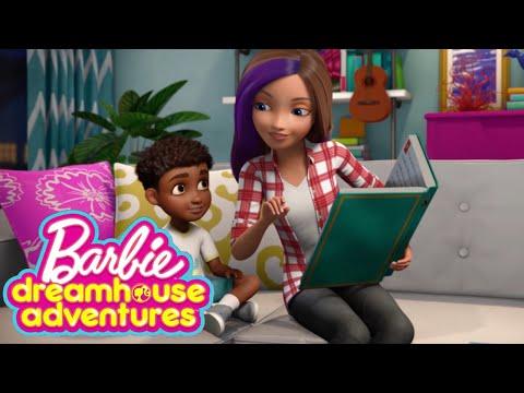 Skipper Babysitters Inc. | Barbie Storytelling Fun - Dreamhouse Adventures Remix | Barbie