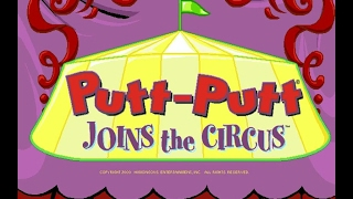 Putt-Putt Joins the Circus gameplay (PC Game, 2000)