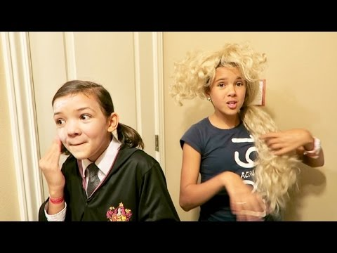 Get Ready with Me Halloween! Large Family of 6 kids