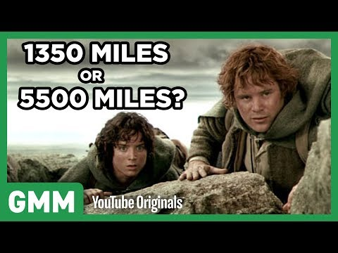 How Many Miles Did Frodo Walk in Lord of the Rings?