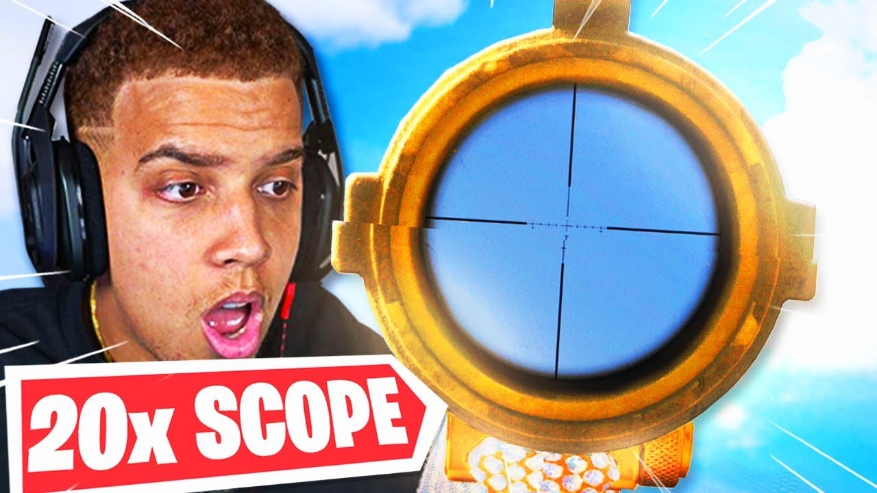 Download I used the 20x SCOPE in Warzone and It's BROKEN! 😂