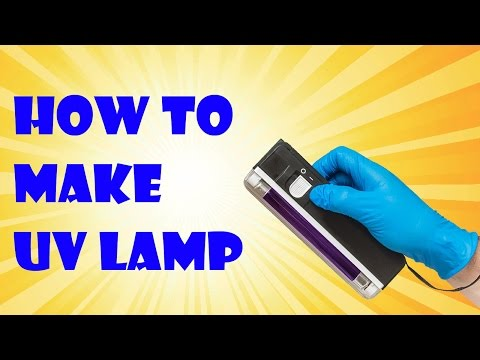 How to make UV lamp with mobile