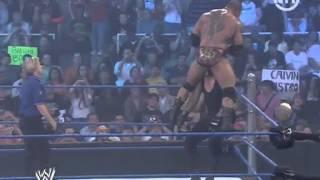 Undertaker Vs Batista - Match pour le titre Poids-lourds