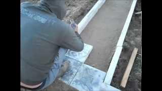 видео укладка тротуарной плитки на кладбище