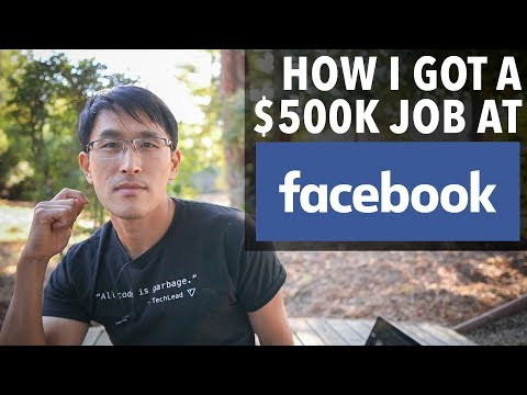 How I got a $500K job at Facebook (as a software engineer).