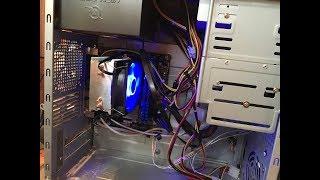 Construirea unui desktop - partea a III-a (instalare RAM si p. de baza in carcasa)