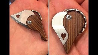 How To Making Heart Knife - Knife Making