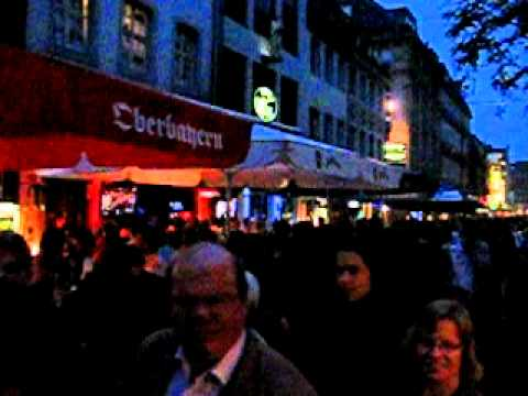 The night life(Dusseldorf)