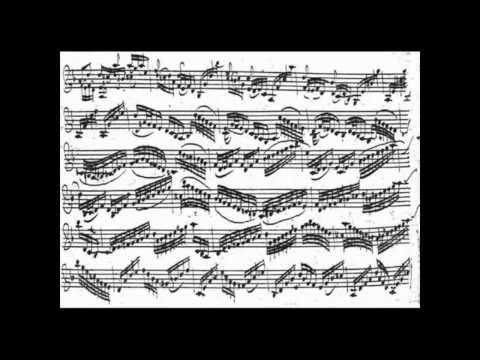 J. S. Bach - Chaccone (Henryk Szeryng) + Violin Sheet Music