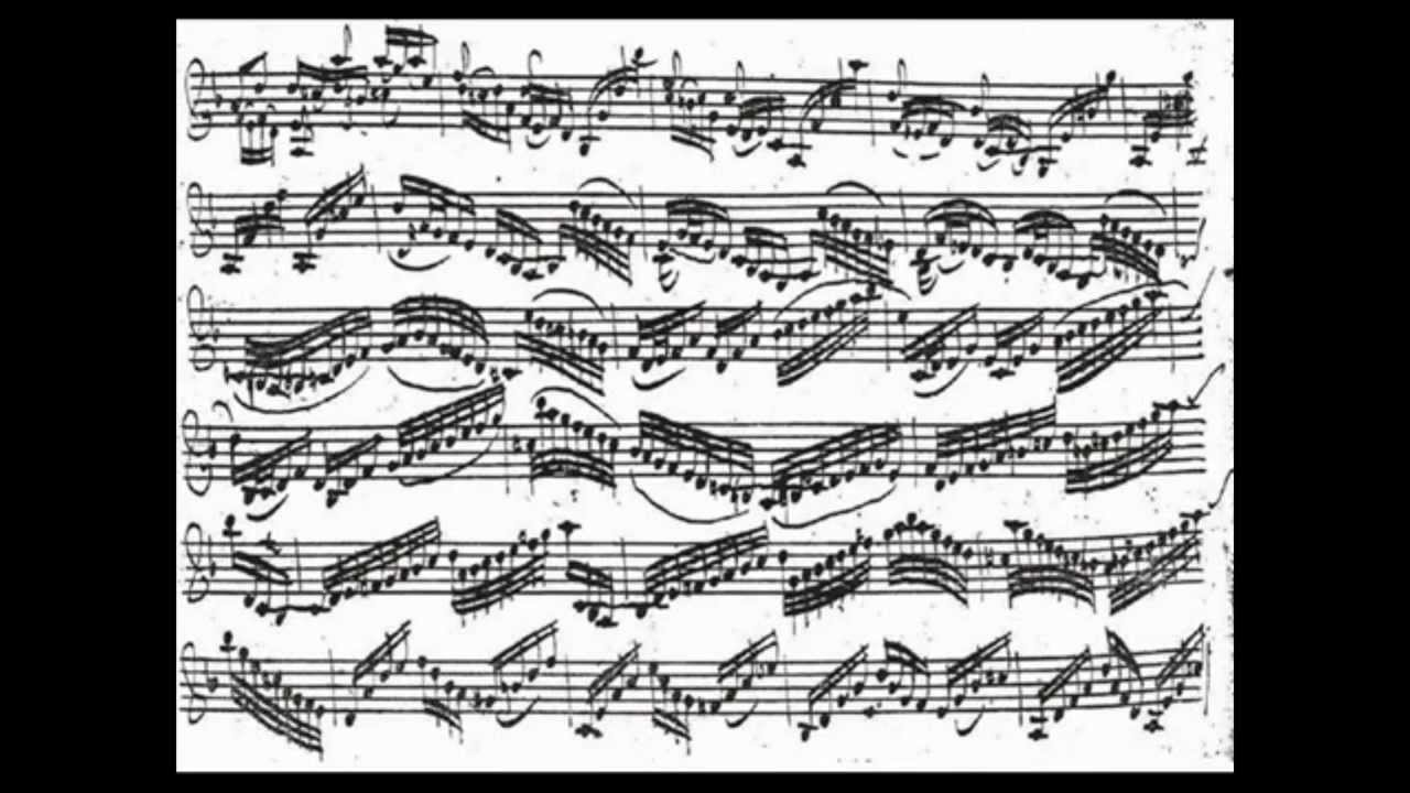 Resultado de imagen para bach partitura original