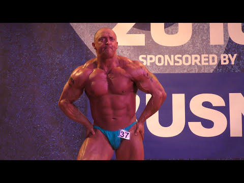 Mark Griffiths – Competitor No 37 - Part 2 – First Timers – NABBA Midlands 2016