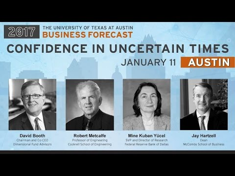 UT McCombs Business Forecast 2017—AUSTIN