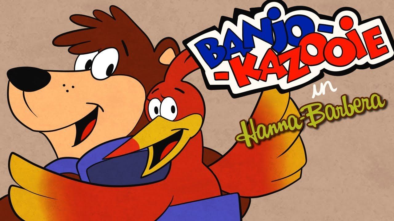 Banjo Kazooie in Hanna Barbera Parody Animation