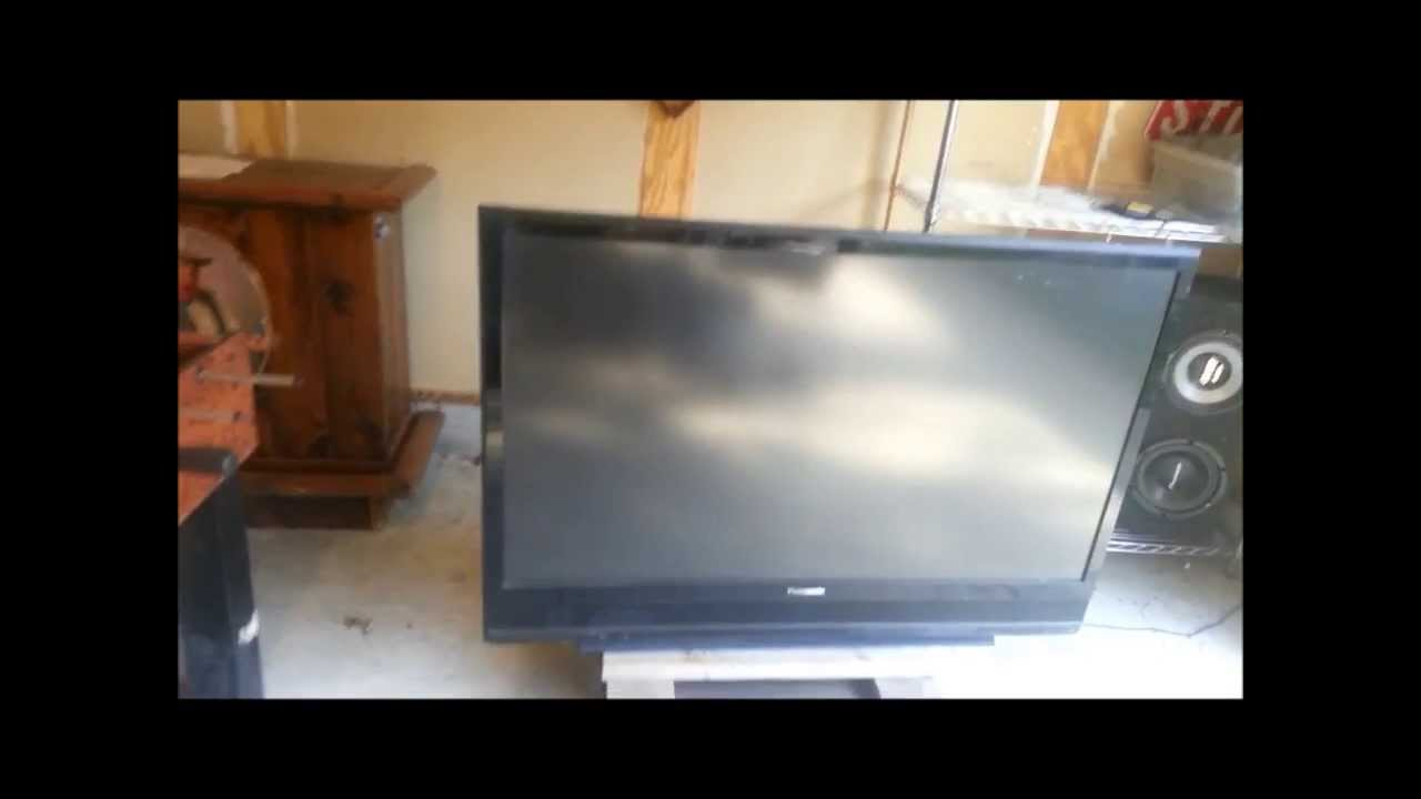 how to replace the lamp 55 panasonic dlp tv spoof youtube rh youtube com 1080P LCD HDTV 1080P 120Hz HDTV