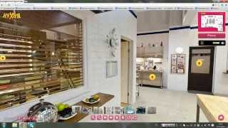 виртуальное путешествие по кухни - сериала (кухня)