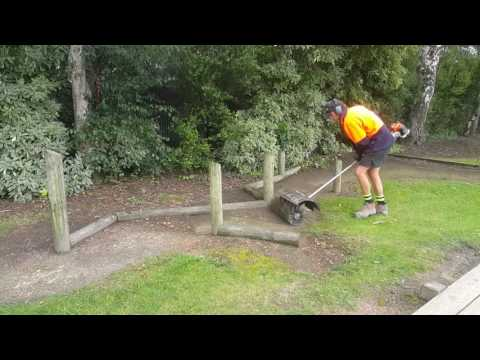 Baywide dingos power broom