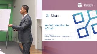 An introduction to nChain, Jimmy Nguyen