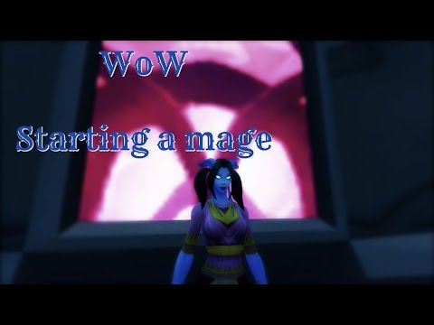 ☆★ASMR★☆ World of Warcraft | Starting a Draenei Mage