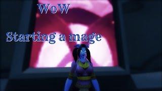 ☆★ASMR★☆ World of Warcraft | Starting a Draenei Mage