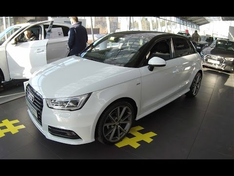 AUDI A1 SPORTBACK SPORT 1,0 TFSI ULTRA !! FACELIFT !! WALKAROUND AND INTERIOR !! 2017 !!